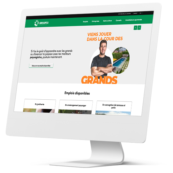 Site talents - Groupex